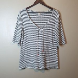Lucky Brand Striped Shirt